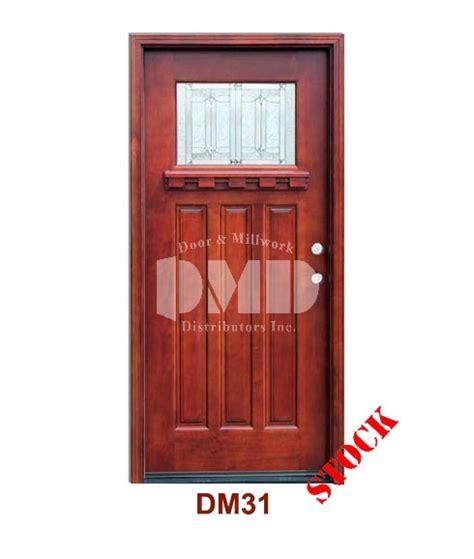 Mahogany Exterior Doors Wholesale Dm31 Mahogany Exterior One Lite Craftsman Diablo Zinc Caming Door And Millwork Distributors