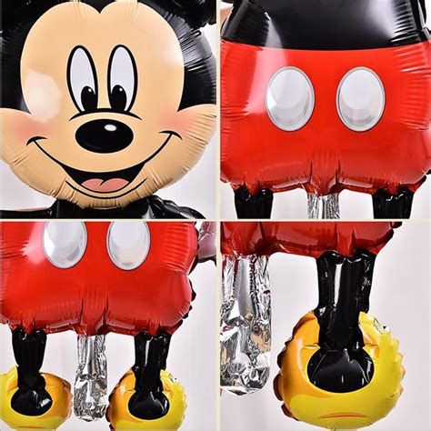 Balon Foil Mickey Mouse Minnie Mouse Kotak 45 Cm By Queenballoon balon pesta anak disney mickey mouse jakartanotebook
