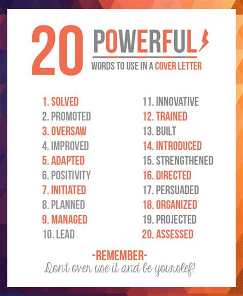 5 Letter Words Verbs 20 powerful words to use in a resume the meta picture