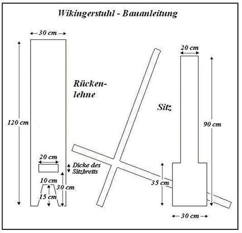 schemel zimmerei of free celts bauanleitung wikinger steckstuhl
