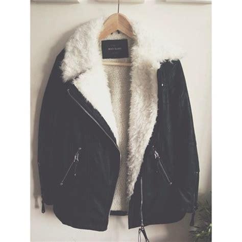 Buy Kitchen Island Online black shearling lined longline biker jacket leather