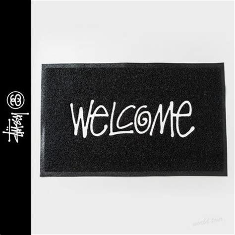Stussy Welcome Mat by Stussy Pvc Door Mat Black Buyma