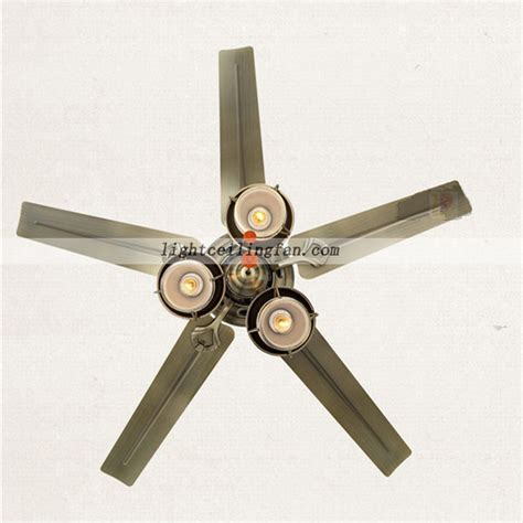 metal ceiling fan with light 52inch decorative green bronze metal ceiling fan lights