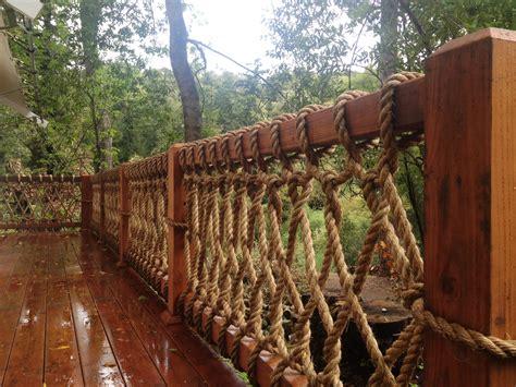 banister netting art fence rope design photos