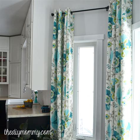 how to make drapery how to make unlined diy drapes with an easy grommet top
