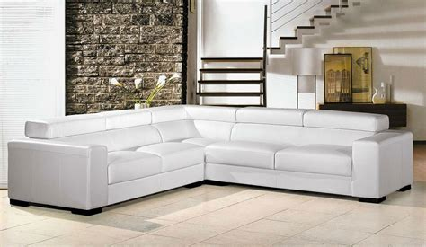 long white leather sofa white leather sofa for elegant living room traba homes