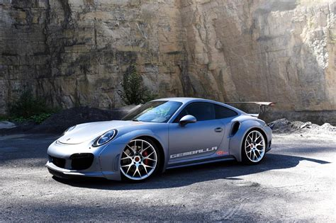 gemballa porsche 911 gemballa gt concept is a widebody porsche 911 turbo with