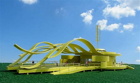 wind architecture eco architecture sustainable solar winds coffee house by