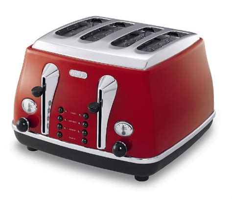 Target Toasters 4 Slice Delonghi Red Icona 4 Slice Toaster Review Compare