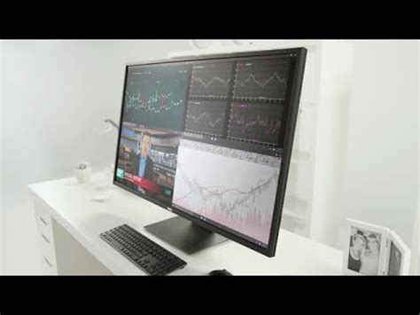 monitor pc brand dell model p4317q unboxing & review