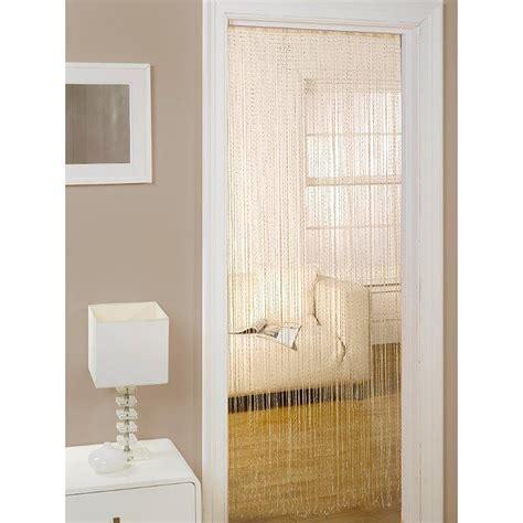tende da porta tenda da porta tinta unita effetto brillantini per interni