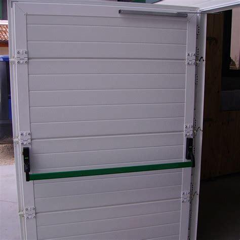 porta portone portone in alluminio sezionale con porta pedonale
