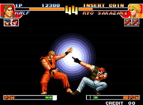 king  fighters  game