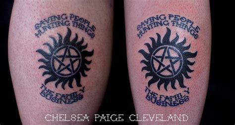 anti possession tattoo supernatural anti possession symbol by chelsea c