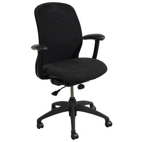 Haworth Chair by Haworth Improv He Series Used Conference Chair Black Mesh