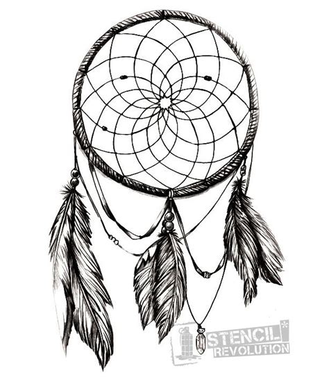 dreamcatcher template catcher stencil projects to try