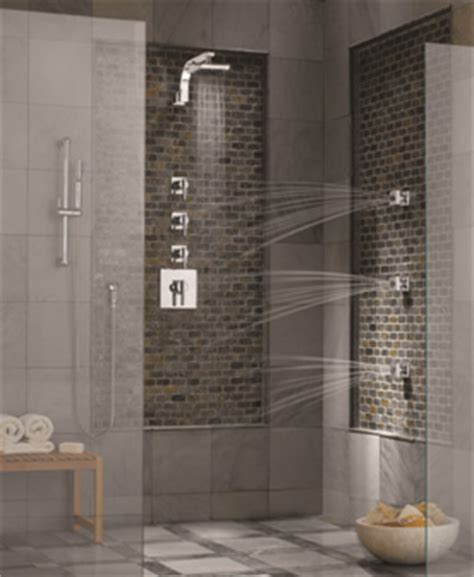 Spa Bathroom Showers by Gorgeous Green Bathroom Products