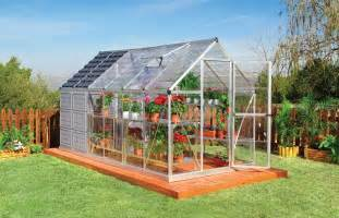 One Stop Gardens Greenhouse by Serres Jardin