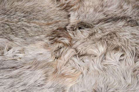 Rug Hair by Hair Silver Goat Skin Rug At 1stdibs
