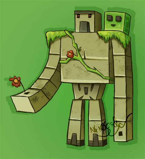 minecraft coloring pages iron golem minecraft iron golem drawing craft the best