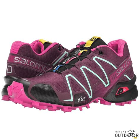 Sepatu Boots Salomon detil produk salomon speedcross 3 womens bordeaux your