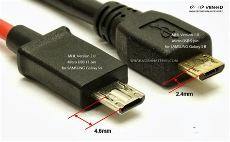 Micro Usb To Vga Audio Mhl 5 Pin mhl adapter ver 2 0 micro usb 11 pin to vga audio for galaxy s3 s4 s5 note2 note3 note8