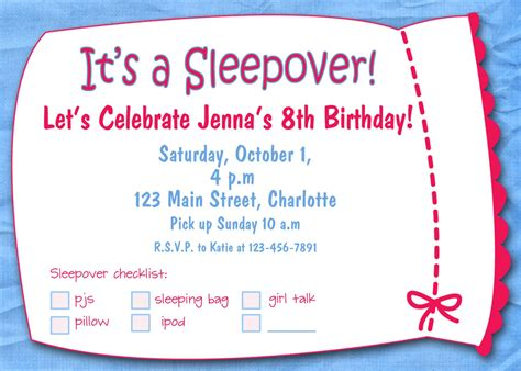 Printable Birthday Invitations For Girls Template Best Template Collection Free Printable Birthday Invitation Templates For Word
