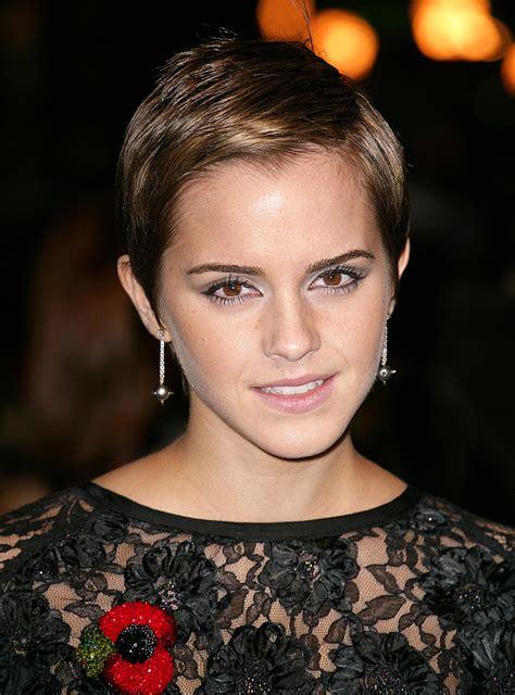 emma watson pixie cut popular emma watson inspired short hairstyles women