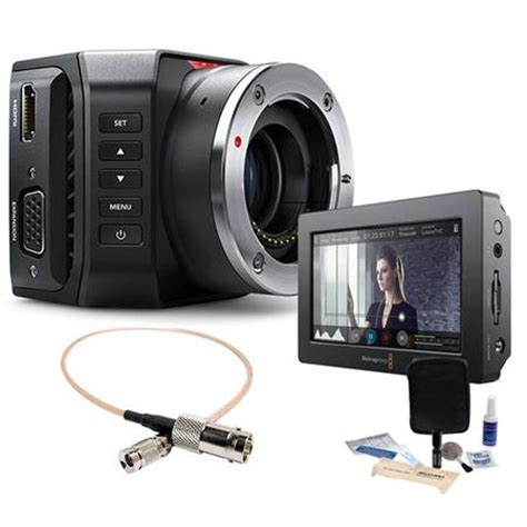 blackmagic micro ultra hd studio camera 4k micro 4/3