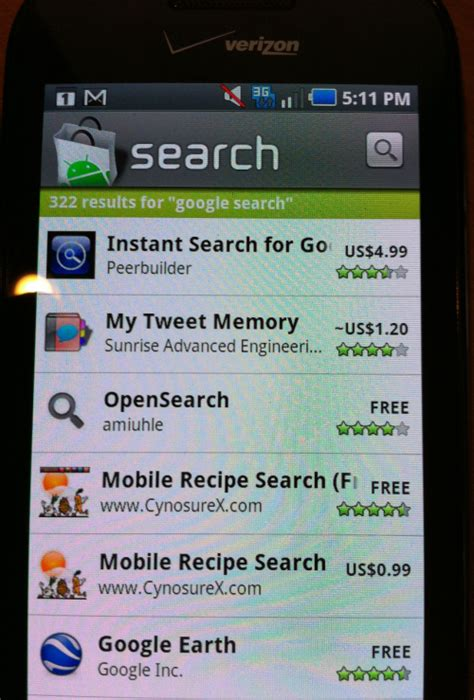search engines for android the best android fragmentation exle no search app on android 2 1 search engine land