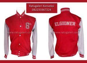 desain jaket simple hasil produksi dan desain jaket fleece elgioner konveksi