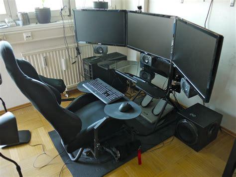 Review Obutto Ozone Gaming Cockpit Article Feedback Cockpit Computer Desk