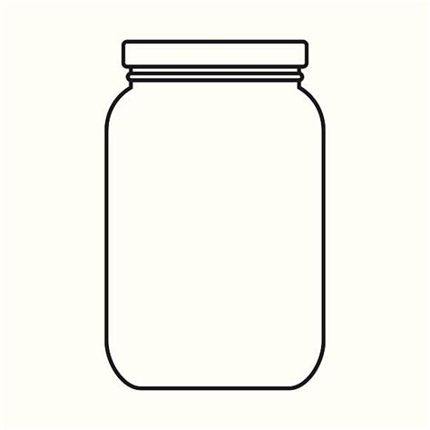Empty Jar 20 container clipart empty jar pencil and in color