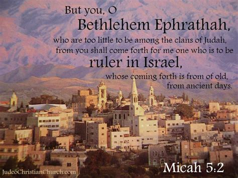 in days to come a new for israel books 5 2 but you o bethlehem ephrathah who are