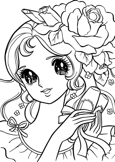 coloring pages flower girl aeromachia girl flower hair coloring pages wecoloringpage