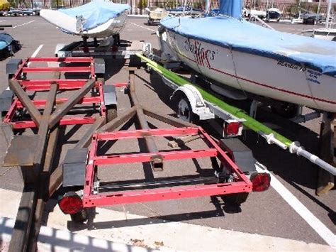 small used boat trailers some interesting small boat trailers
