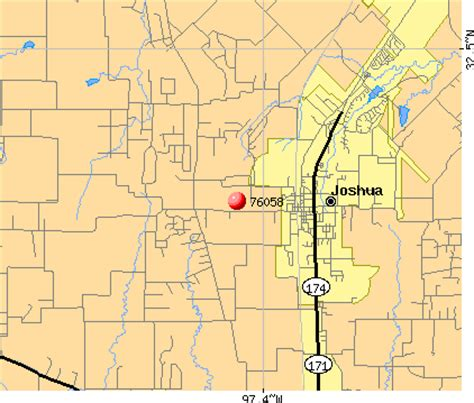 joshua texas map joshua texas map