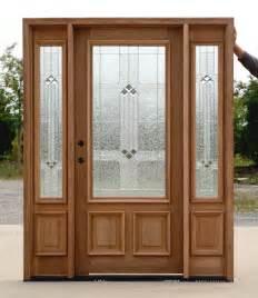 Wood Glass Exterior Doors Wood Exterior Doors With Glass Marceladick