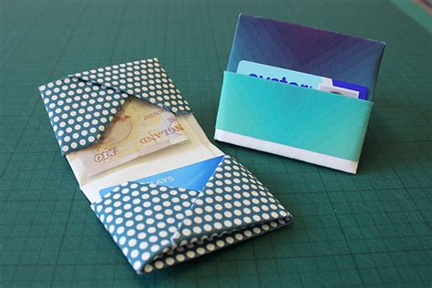 How To Make A Paper Wallet With Pockets - image result for origami paper pocket pouch tea wallet