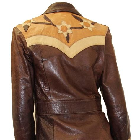 Handmade Leather Jacket - late 1960s handmade leather jacket for sale at 1stdibs