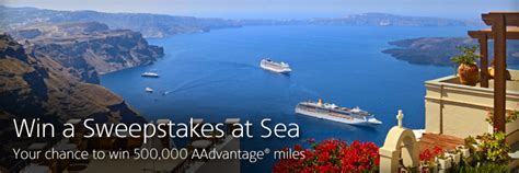 American Airlines Sweepstakes - your chance to win a sweepstakes at sea with american airlines cruises the gatethe gate