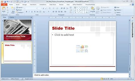 template of powerpoint free finance powerpoint template