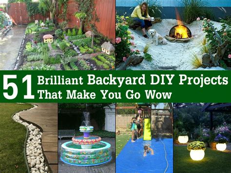 backyard diy ideas pics for gt diy outdoor projects on a budget