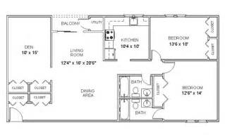 Two Floor Bed two bedroom two bath floor plans bedroom at real estate