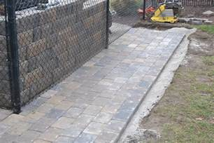 Laying Paver Patio Paver Patio Installation How To Properly Install Your Paver Patio