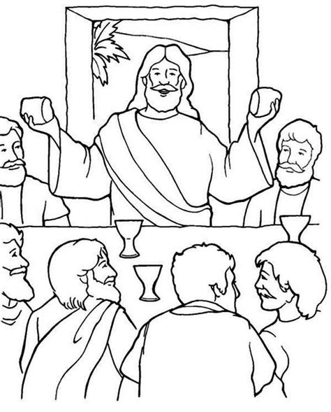 last supper coloring page pin by lasandra grimsley on communion lord s supper last