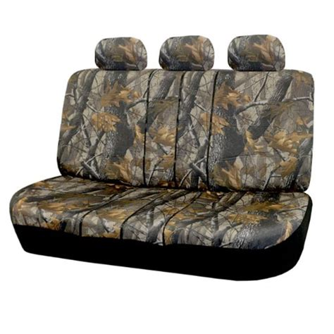 camouflage bench seat covers fh fb111115 hunting camouflage car seat covers airbag