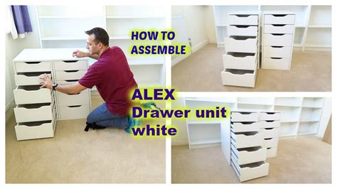 ikea alex desk assembly ikea alex drawer unit assembly