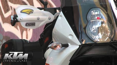 Cycra Ktm Handguards Ktm Cycra Guards How To Review At Ktmtwins