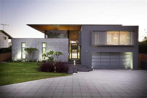 Home Design Modern Concrete House In The Himalayas With Australian Contemporary House Plans